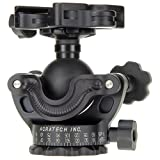 Acratech GPs Ballhead with Gimbal Feature, Panoramic Head, with all Rubber Knobs, Quick Release / Detent Pin and Level, Supports 25 lbs.