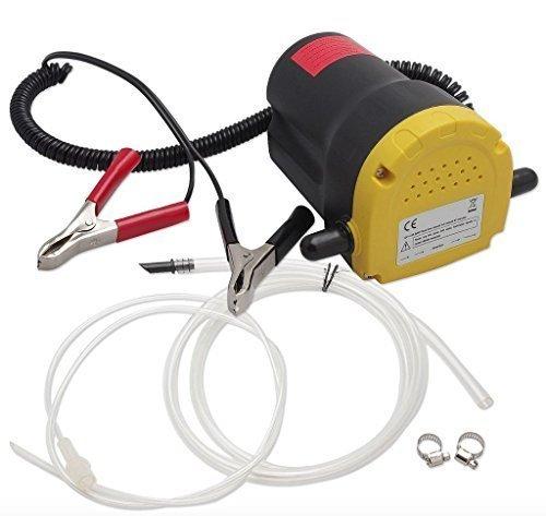 12V Transfer Pump Extractor Oil Fluid Diesel Electric 60w Siphon Car Motorbike Wheels N Bits