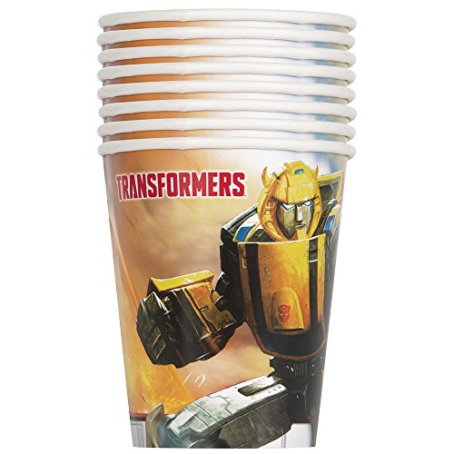 9oz Transformers Party Cups, 8ct (9 Transformers Cups Ounce)