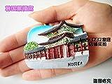 Bigfanshu European 3D Stereoscopic Architectural Scenery Tourist Memorial Resin Magnetic Refrigerator Adornment Iron Absorber