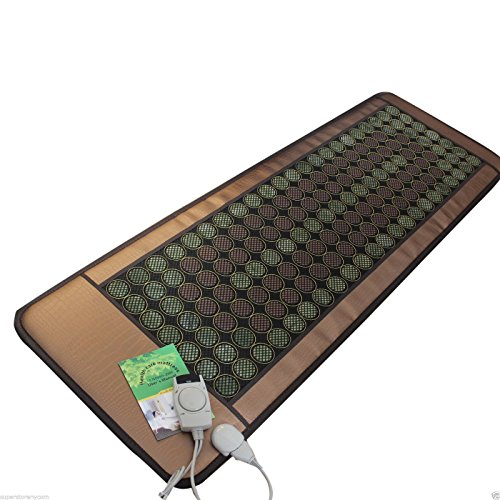 "HealthyLine Far Infrared Heating Mat 72""X24"" | Natural Ja..."