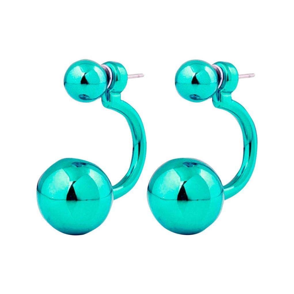 Mr.Macy Earrings For Women,Stud Earrings Gold Hooppearl Earrings Pearl Tassel Earrings beach ear rings (G)