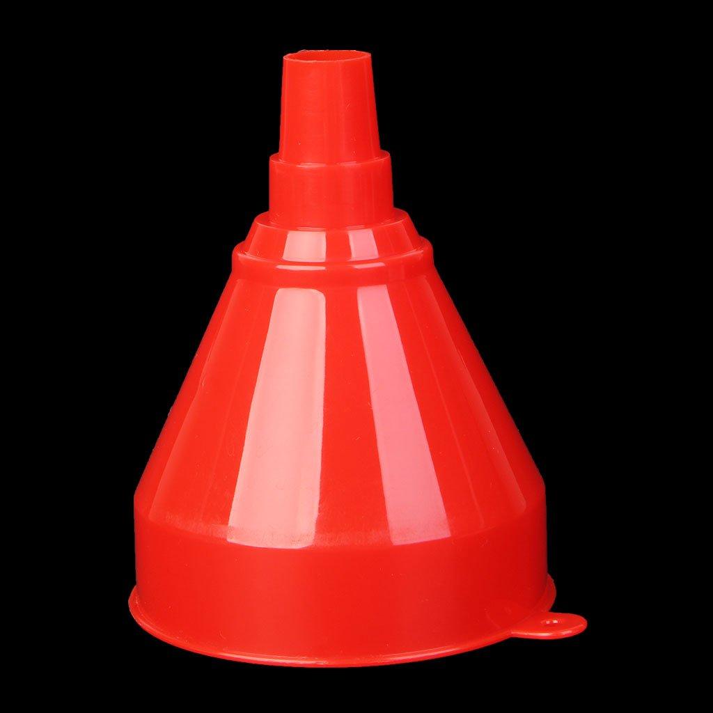 tubo de gasolina di/ésel Embudo de pl/ástico universal para veh/ículo de motor