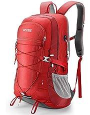 HOMIEE Vandringsryggsäck 45 l, arbetsbesparande andas lätt vandringsryggsäck, multifunktionell hängsystem trekking ryggsäck utomhus skidåkning bergsklättring camping ryggsäck