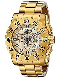 Invicta Men's 17379 Reserve Analog Display Swiss Quartz Gold Watch