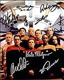 #6: Star Trek Voyager Cast Signed Autographed Movie 8 X 10 Reprint Photo - (Mint Condition)