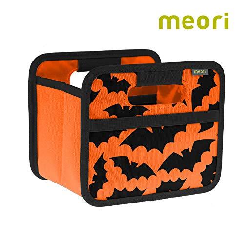 meori Foldable Mini Box Orange Bats/Collapsible Gift Box Haloween Make-up -