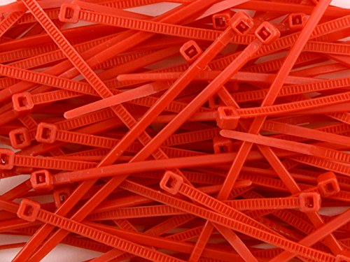 Inch Red Miniature Nylon Zip product image