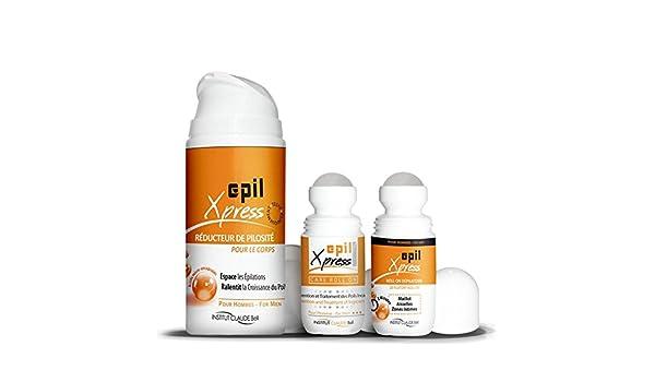 Trio Epil Xpress - Tratamiento depilatorio para zonas íntimas (para él): Amazon.es: Salud y cuidado personal