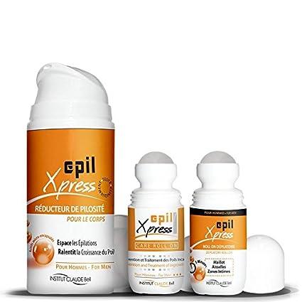 Trio Epil Xpress - Tratamiento depilatorio para zonas íntimas (para él)