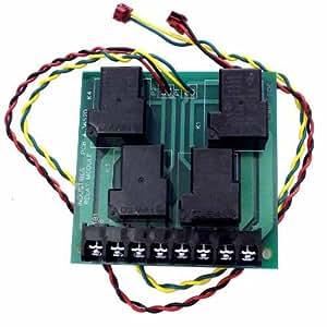 Jandy Zodiac 3652 2HP Relay Circuit Board Module