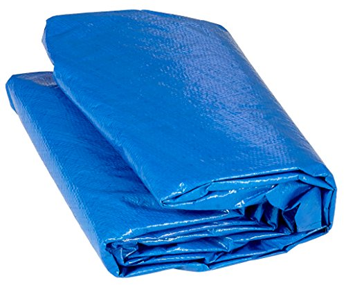 14' Trampoline Protection Cover (Weather & Rain Cover) Fits for 14 FT. Round Trampoline Frames - Blue by Upper Bounce