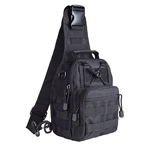 One army G4free Strap A Small Tactical Lightweight Sling Assault Molle Backpack b Green black ww1CqfI