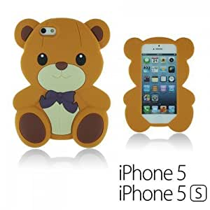 Dog Style Soft Silicone For LG G3 Case Cover - Brown