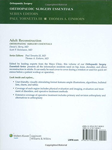 Buy Adult Reconstruction (Orthopaedic Surgery Essentials Series