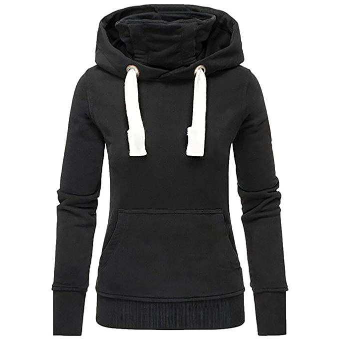 Amazon.com: FORUU - Sudadera con capucha para mujer, con ...