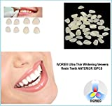IVORIE Ultra Thin Whitening Veneers Resin Teeth Anterior 50PCS (Shade A2 Upper)