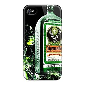 Busttermobile168 Shockproof Scratcheproof Jagermeister Hard Cases Covers For Iphone 4/4s