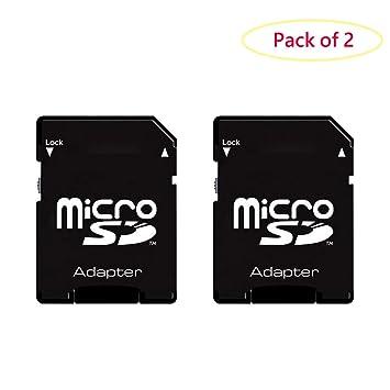 LXSINO PSP Memory Stick Adapter, Funturbo Micro SD to Memory Stick Pro Duo MagicGate Card for Sony Playstation Portable, Camera, Handycam