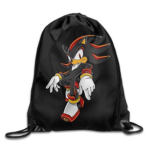 FFuture Sonic The Hedgehog Gym Drawstring Backpack Sport Bag