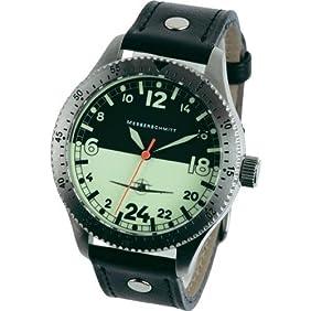Messerschmitt 24 hour Watch with a Glow in the Dark Dial ME108DR-24