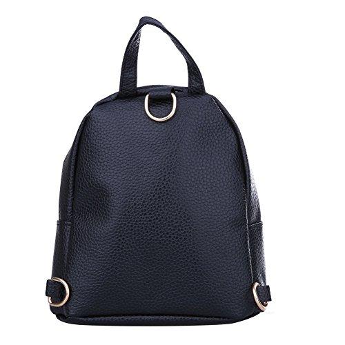 mochila mujer Blanco Tookie blanco libre Negro Tamaño Bolso Negro para Negro 15288902793715 IOItw