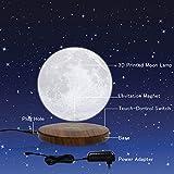 Floating Moon Lamp, DTOETKD Magnetic Levitating