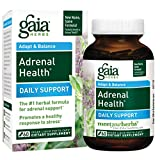 Gaia Herbs Adrenal Health Daily Support Liquid Phyto-Caps, 60 Count