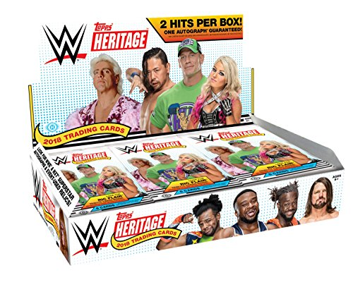 2018 TOPPS WWE HERITAGE - Hobby Box by Topps