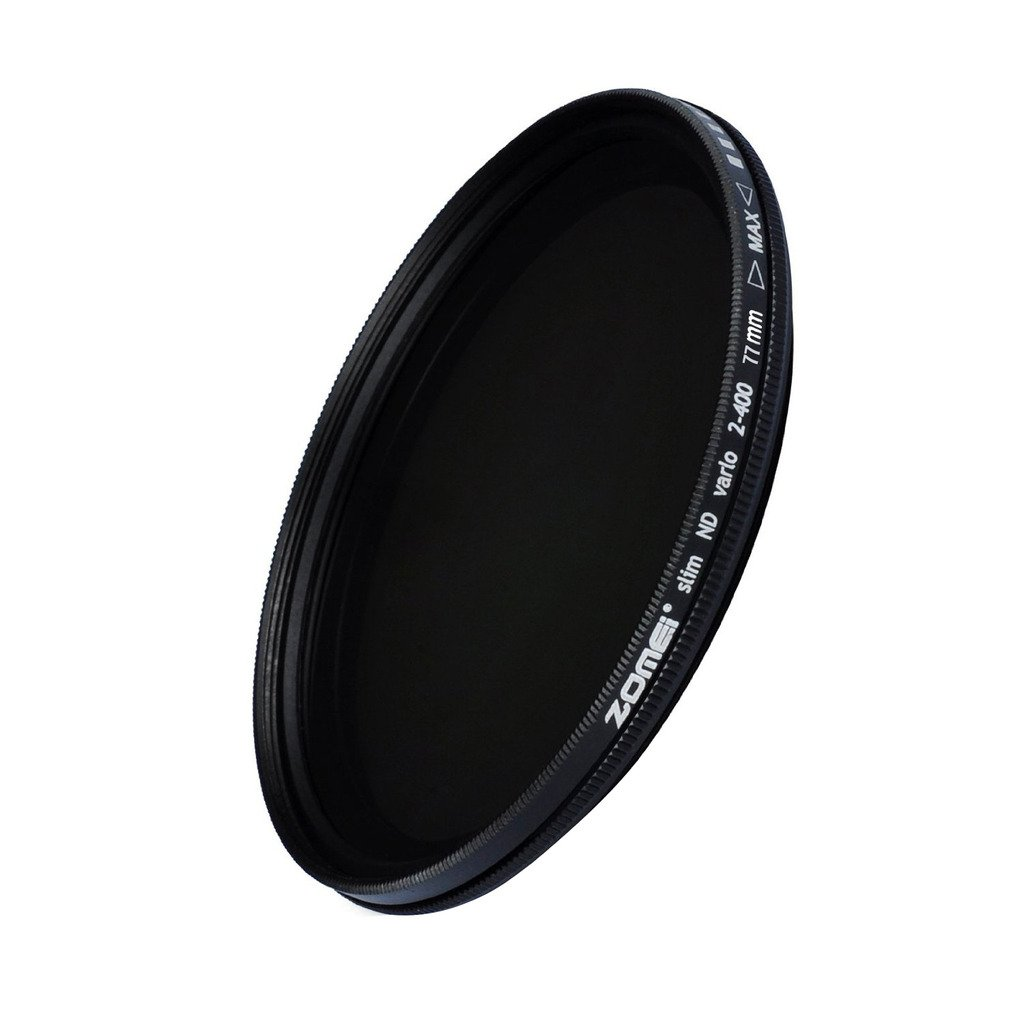 ZOMEi 77mm Ultra Slim ND2-ND400 Fader Variable Neutral Density Adjustable Lens Filter Ultra Slim ND Filter Optical Glass by ZoMei