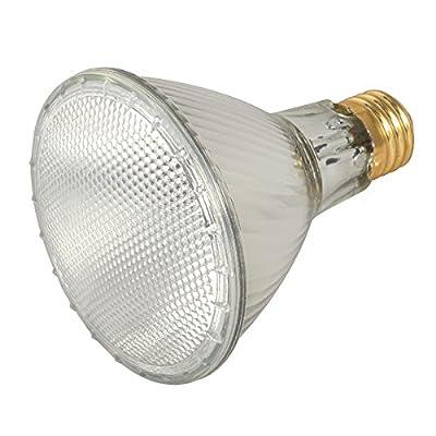 39PAR30L/FL 120V - 39 Watt High Output (50W Replacement) PAR30 Long Neck Flood - 120 Volt Eco Halogen Light Bulbs - Dimmable - Indoor / Outdoor Use