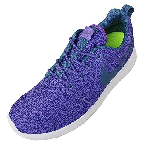 Nike Roshe Run Damen Schuhe Größe 36 - Lila Dunst Hyper Traube Volt 551, Kunststoff und Stoff, 36