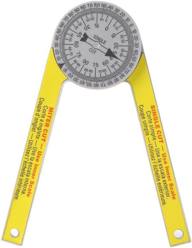 Schlosserwinkel Zum Pr/äzisen Anrei/ßen /& Zeichnen Mit 90/° Anschlagwinkel Und Abnehmbarer Winkelschiene Goodtimera 7-inch Winkelmesser Aus Kunststoff
