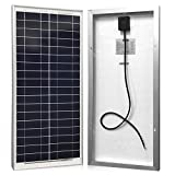 Solar Panel 40 Watt, Powereco 40W Polycrystalline Solar Charger for 12V Battery Charging