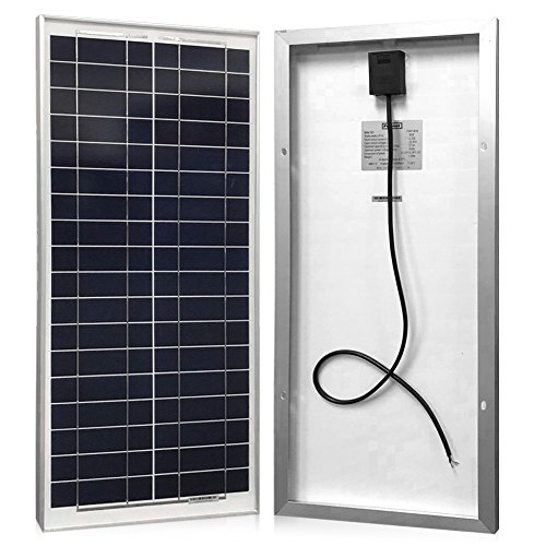 Small Solar Panel Battery Charger - 8