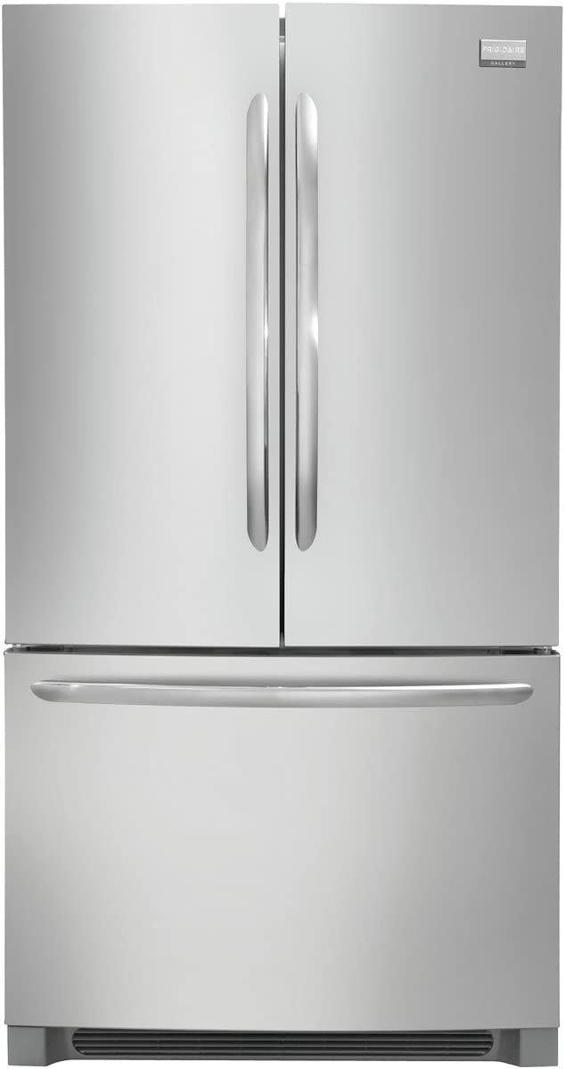 "Frigidaire FGHG2366PF 36"" French Door Counter-Depth Refrigerator in Stainless Steel"