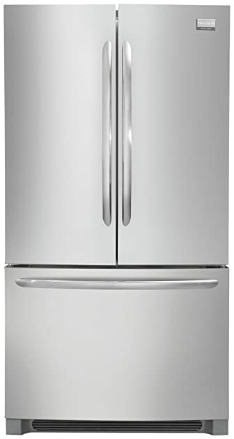 Frigidaire FGHG2366PF 36u0026quot; French Door Counter Depth Refrigerator In  Stainless Steel
