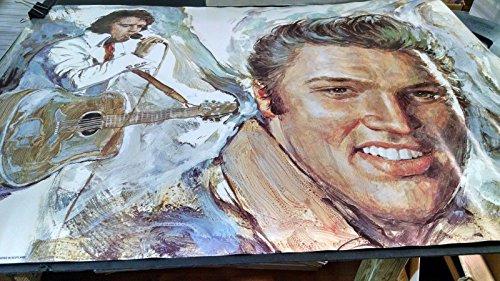 1977 Elvis Presley hippie head shop vintage new Nos poster