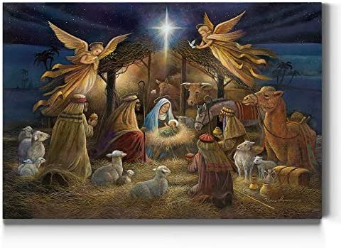 Renditions Gallery Nativity Scene Wall Art