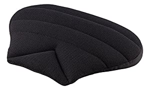 sitwell black air sitwell wedge shaped pillow car seat cushion pillow fabric black. Black Bedroom Furniture Sets. Home Design Ideas