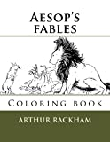 Aesop's fables: Coloring book