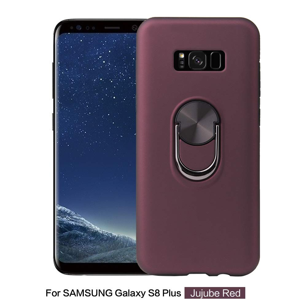 DAMONDY for Galaxy S8 Plus Case with Ring