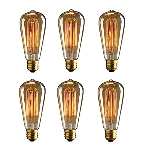 HESSION Dimmable Tungsten Incandescent Decorative product image