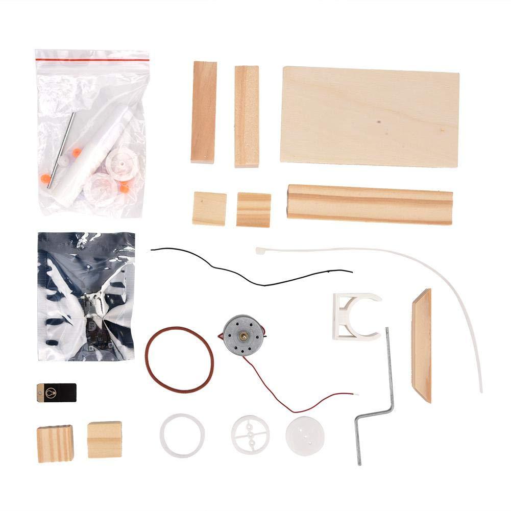 Manuelle Stromerzeuger Kinder P/ädagogisches Handwerk Spielzeug Geschenk DIY Hand Generator Material Set