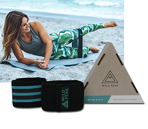 Non Slip Workout Bands: Wild Peak Premium Resistance Bands For Legs And Butt