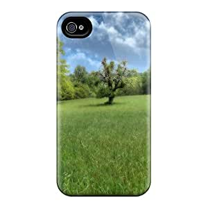 New Claire's Super Strong Trees Tpu Case Cover For Iphone 4/4s