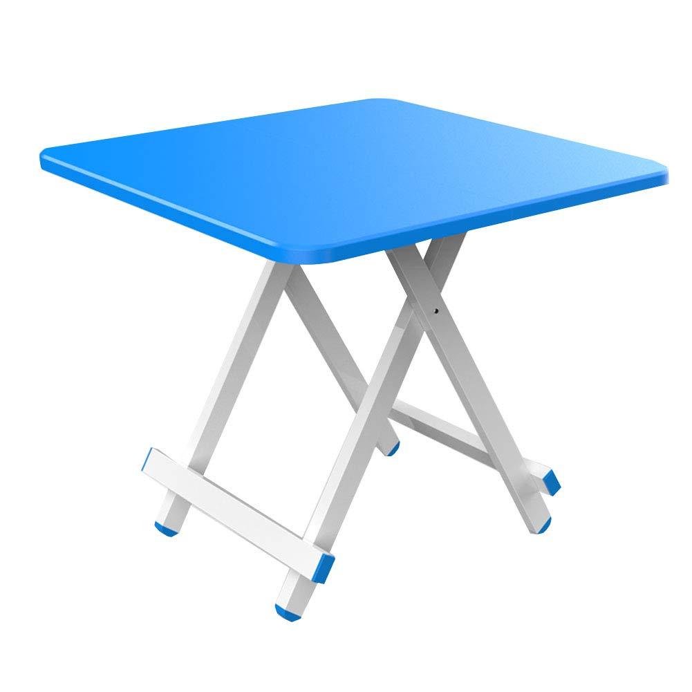D 80×80×76cm NJLC Picnic Table, Household Folding Small Table Table, Simple Small Folding Table,C,70×70×74cm