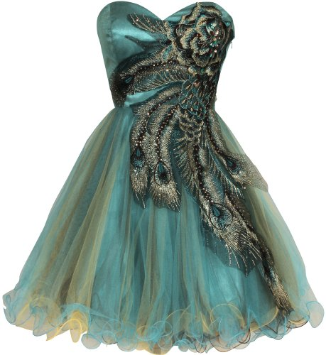 metallic blue bridesmaid dresses - 5