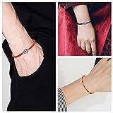 YADOCA 8 Pieces Red Bracelets 7 Knots Red Cord Evil