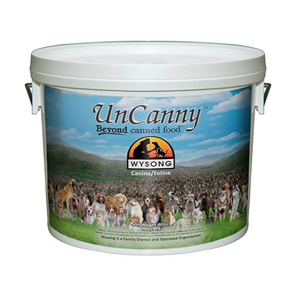 Wysong Uncanny Canine/Feline Raw Diet - Dog/Cat Food Supplement - 40 Ounce Bucket 1